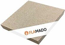 Flamado ® Vermiculite Platten 500 x 500 x 20 mm