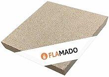 Flamado ® Vermiculite Platten 500 x 500 x 40 mm