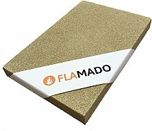 Flamado ® Vermiculite Platten 600 x 500 x 15 mm