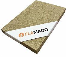 Flamado ® Vermiculite Platten 800 x 600 x 50 mm