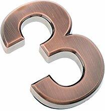 FLAMEER 0-9 Selbstklebende Nummer Hausnummer