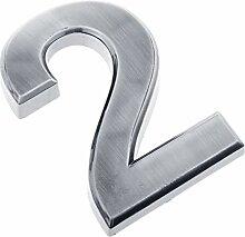 FLAMEER 0 bis 9 Selbstklebende Türnummer