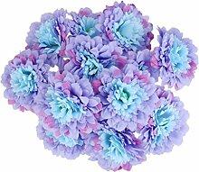 FLAMEER 20pcs Künstliche Blume BlumenKöpfe