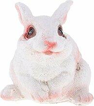 FLAMEER Dekofigur Hase Kaninchen Tierfigur