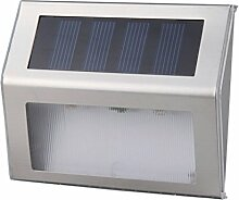FLAMEER LED Solarleuchten Weitwinkel LED Solar