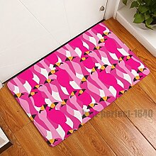 Flamingo Bodenmatten Home Decor Teppich Teppich Eingang Innen Bad Schlafzimmer die Sauberlaufmatten