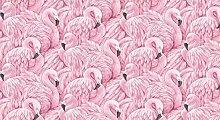 Flamingo Druck Tapete Wandbild Für Wohnzimmer