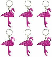 Flamingo Stil Flaschenöffner, Schlüsselanhänger