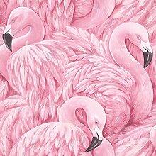 Flamingo Tapete Pink Rasch 277890