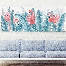 Flamingo Wandaufkleber Kinderzimmer Schlafzimmer