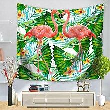 Flamingo Wandteppich für Beach Werfen Home Decor, C, 150130, a, 150*130