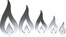 Flamme (Alu) (5er Set)