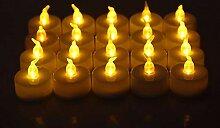 Flammenlose elektronische LED Kerze 24Pcs