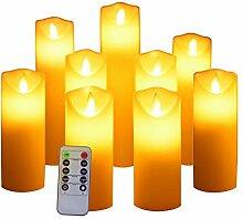 Flammenlose Kerze, Batteriekerzen,