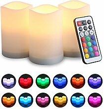 Flammenlose Kerzen, MOGOI LED elektronische Kerze