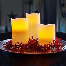 Flammenlose LED Kerzen Farbwechsel Fernbedienung