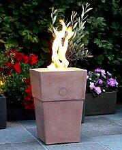 Flammentopf Firenze Rosso, Bio-Ethanol Feuerstelle