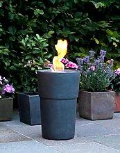 Flammentopf Siena Piombo, Bio-Ethanol Feuerstelle