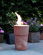 Flammentopf Siena Rosso, Bio-Ethanol Feuerstelle