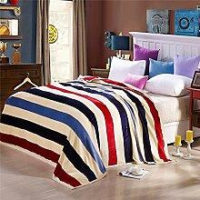 Flanell-Decke/ Decke/Verdickte Korallen Teppich/ Klimaanlage Decke/ napping decken/ Kinder Decke/ Handtuch-Decke-Q 100x140cm(39x55inch)