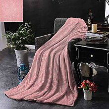 Flanell-Vlies-Wurfs-Decken-Blumengesteck Mit