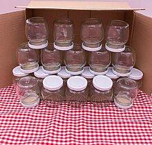 Flaschenbauer 24er Set Konservengläser 106 ml