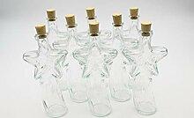 Flaschenbauer - 8 x Leere Glasflaschen 200ml
