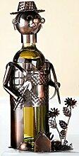 Flaschenhalter aus Metall 'Gärtner', 20