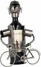 Flaschenhalter Fahrrad in eisenoptik -