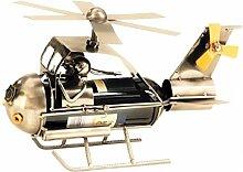 Flaschenhalter Hubschrauber Metall