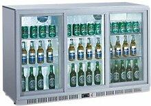 Flaschenkühler, SILVER, 330 L, 1350 x 520 x 900 mm, 300 W,