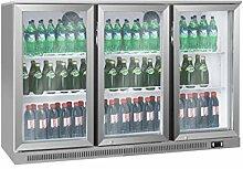 K/ühlschrank mit Glast/ür Lier Flaschenk/ühlschrank Schmal Getr/änkek/ühlschrank Gewerbek/ühlschrank 360 Liter
