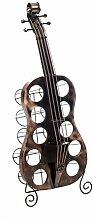 Flaschenregal Cello Kontrabass 101cm Flaschenständer Flaschen Ständer Weinregal