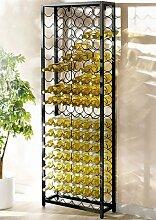 Flaschenregal, für 108 Flaschen 65x24x189 cm