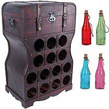 Flaschenregal für 14 Flaschen | Flaschenständer