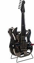 Flaschenregal Gitarre 107cm Flaschenständer Flasche Regal Weinregal wine rack