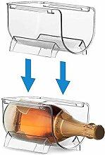 Flaschenregal Kühlschrank Universal Stapelbar