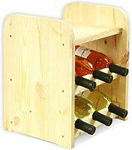 Flaschenregal Weinschrank Weinständer Weinregal für 6 Flaschen NEU!