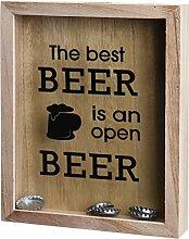 Flaschenverschluß Sammelkasten für Wein oder Bier (Bier)