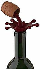 Flaschenverschluss - Weinfass - Barrel Wine
