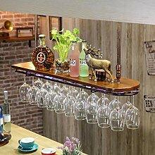 Flaschenweinregal, Weinbar Metallwand Weinregal,