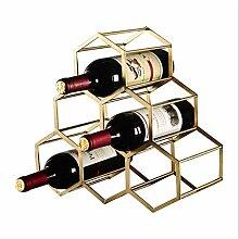 Flaschenweinregal, Weinregal für 6 Flaschen