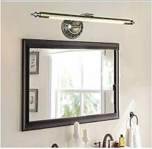 flashing lights- European American LED-Spiegel-Scheinwerfer wasserdichte Badezimmer-Spiegel-Kabinett-Licht Dresser Spiegelleuchten ( farbe : Grüne Bronze , größe : L )
