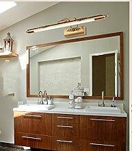 flashing lights- LED-Spiegel-Scheinwerfer European American Spiegelleuchten Badezimmerspiegel Kabinett Lichter Dresser ( größe : M )