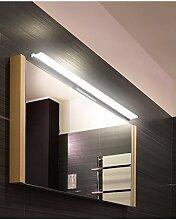 flashing lights- Minimalist modernen Badezimmerspiegel Licht Wassernebel führte Make-up-Spiegel-Beleuchtung ( farbe : Warm , größe : 80cm )