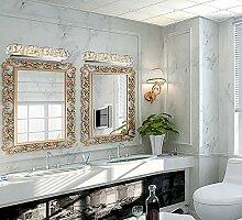 flashing lights- Spiegel Scheinwerfer Moderne Schlafzimmer Led Kristallwand Badezimmer-Spiegel-Licht Wassernebel Make-up (drei Arten von Farbe einstellbar) ( größe : 100cm(10 Lights) )