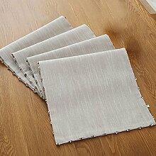 Flashing- Moderne chinesische Stil Baumwolle Leinen Material Solid Color Tabelle Flagge, Couchtisch Esstisch TV Schrank Tischläufer ( größe : 32*200cm )