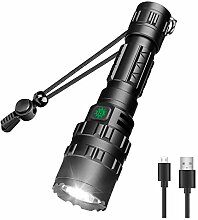 FLASHLIGHT Taschenlampe Wiederaufladbare Taktische