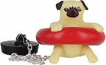Flashpoint 556098 Badewannenstöpsel Mops Hund