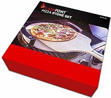FLASHPOINT 8100-023 Pizza-Grillstein, Braun